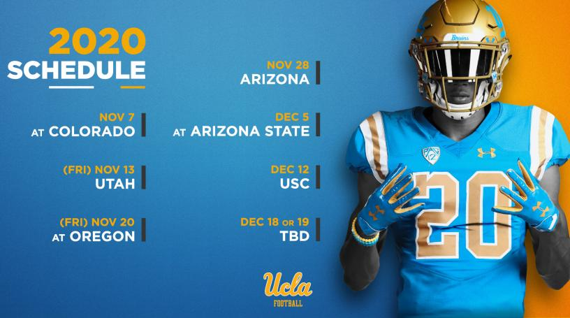 Seven Game 2020 Football Schedule Announced Pac 12