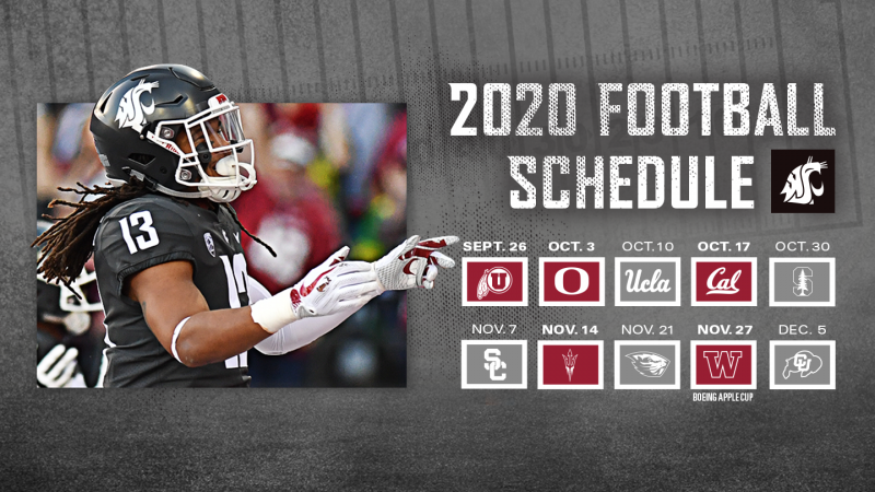 Pac 12 Announces Revised 2020 Football Schedule Pac 12