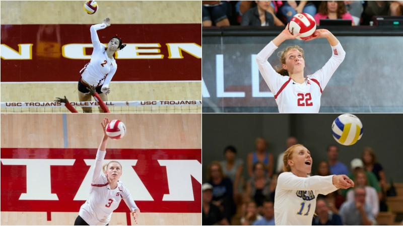 Pac 12 Volleyball Postseason Honors Announced Pac 12
