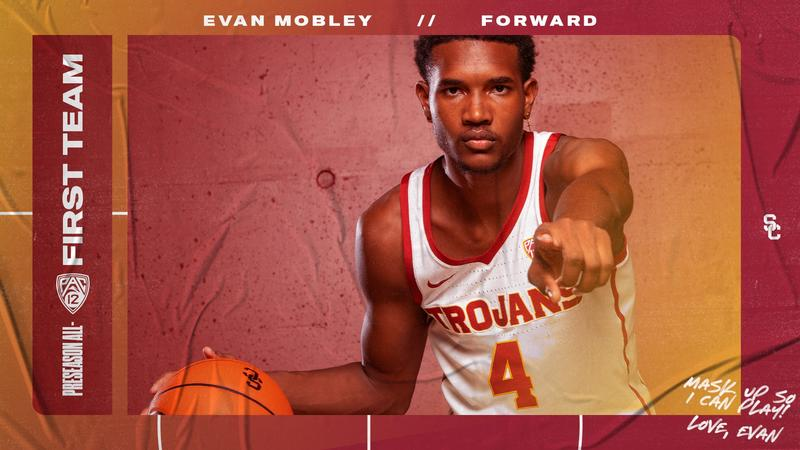 Evan Mobley Named To 2020-21 Preseason Pac-12 All-Conference First Team |  Pac-12