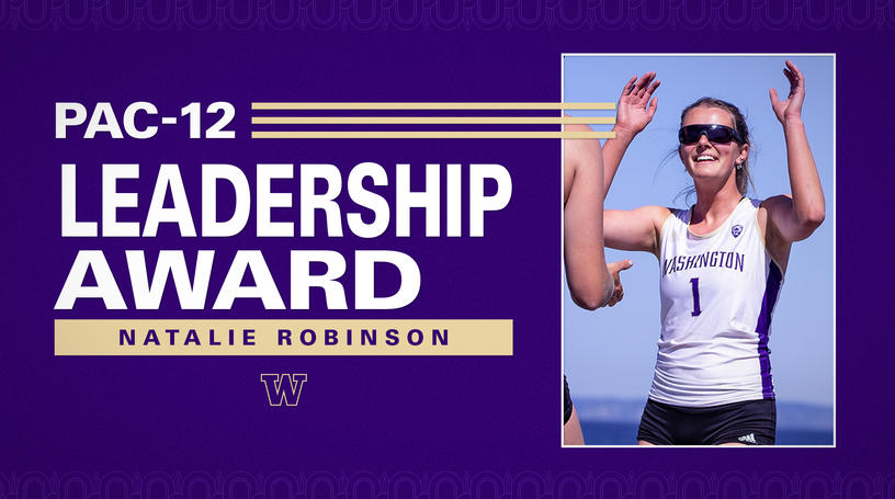 Natalie Robinson Wins Pac-12 Leadership Award